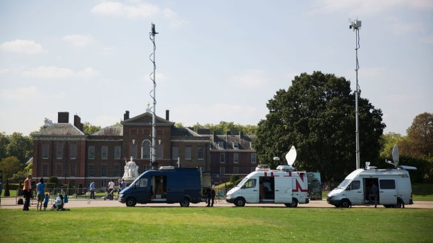 Man Found 'Ablaze' Outside Kensington Palace
