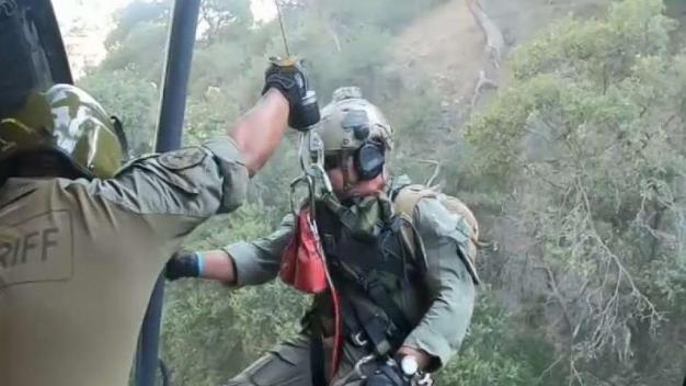 Rescuers Lauded for Helping Save Injured Hiker in San Gabriel Mountains