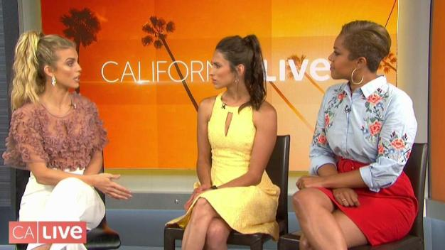 AnnaLynne McCord Stops By California Live