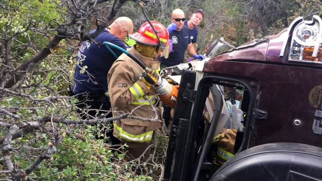 Man Rescued After Being Trapped in Car for 3 Days