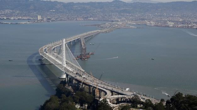 Crews Dismantle Portion of San Francisco's Old Bay Bridge