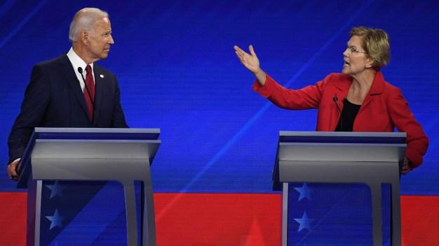 Biden, Warren Face Same Challenge in Iowa: Keeping Momentum