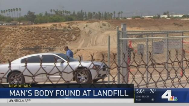 Body Found in Landfill
