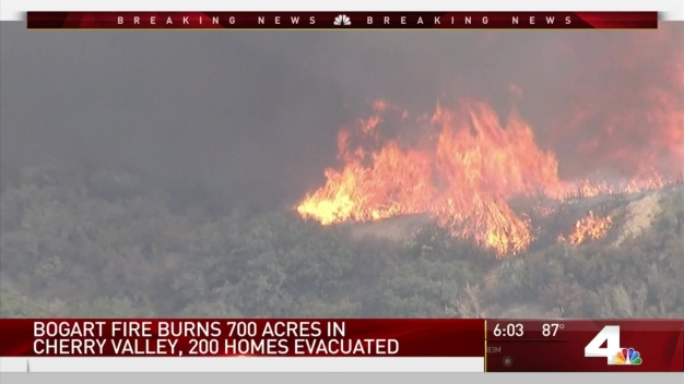 Bogart Fire Forces Hundreds to Evacuate