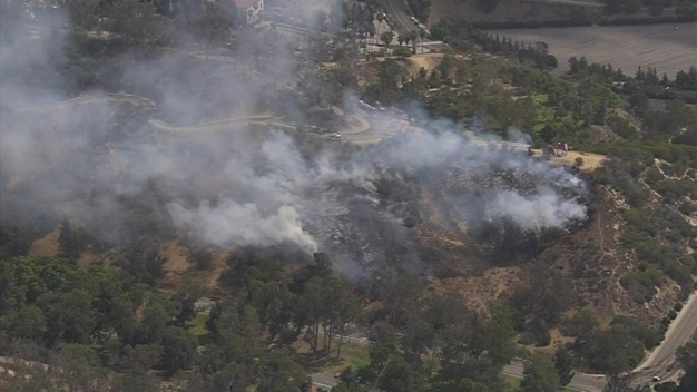 Small Brush Fire Knocked Down in Echo Park