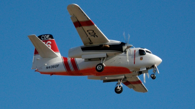 Cal Fire S-2T Fleet Grounded