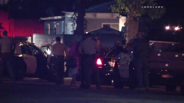 Stolen Vehicle Pursuit Ends in Compton