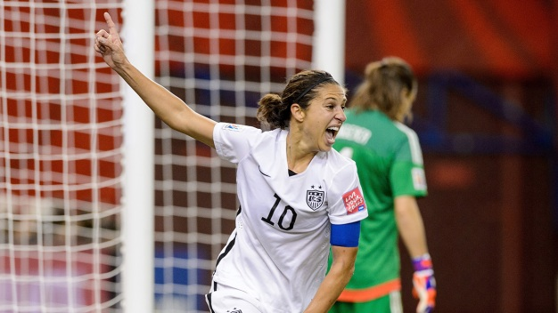 Carli Lloyd Becomes Captain America for U.S. Women