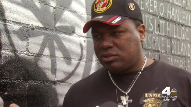Community Rallies to Fix Veterans' Mural Defaced Ahead of Memorial Day