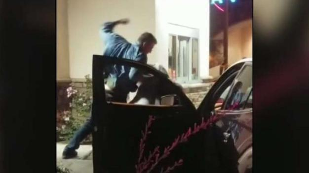 Couples Throw Blows at Popeyes Drive-Thru in Temecula