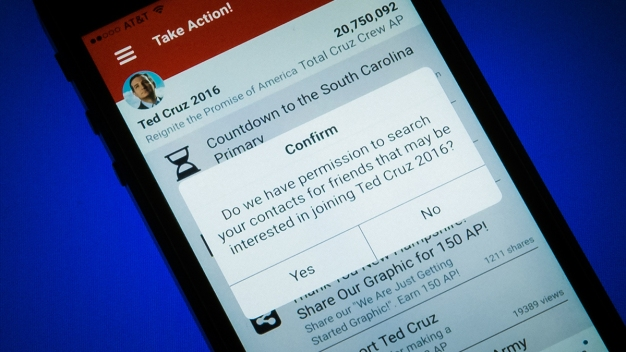 Cruz App Data Collection Helps Campaign Read Minds of Voters