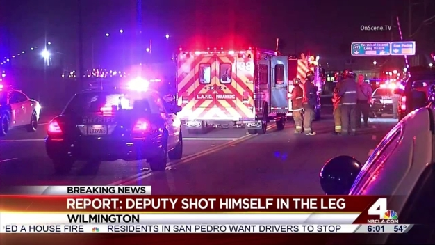 Deputy Accidentally Shoots Self During Pursuit