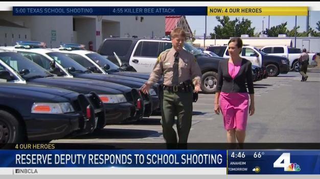 Deputy in School Shooting Honored