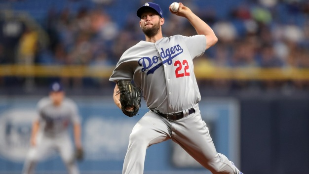 Kershaw Takes Shutout Into 7th, Dodgers Beat Rays 7-3
