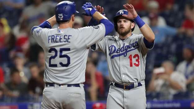Dodgers Toss 2-Hitter, Beat Phillies After Lengthy Rain Delay