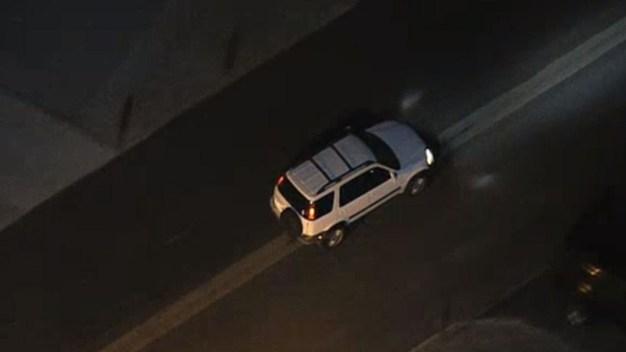 Tire Comes Off Suspected Stolen Vehicle During Pursuit