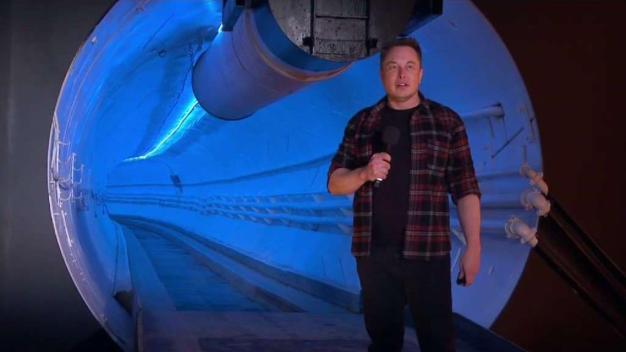 Elon Musk Unveils Underground Transportation Tunnels