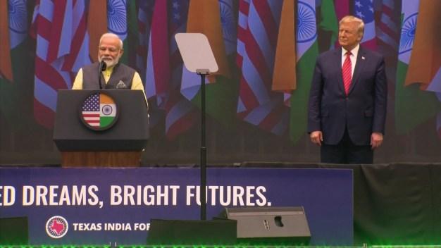 Trump, Modi Show Unity Between World's Largest Democracies