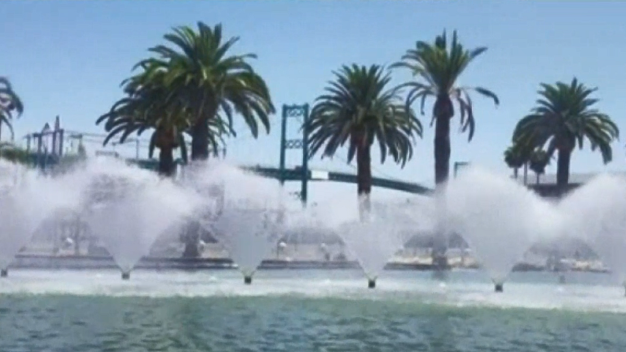 The LA You May Not Know: Fanfare Fountains at Gateway Plaza