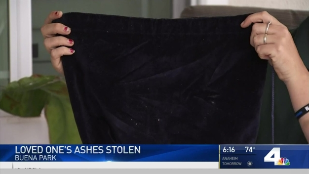 Father's Ashes Stolen in Buena Park