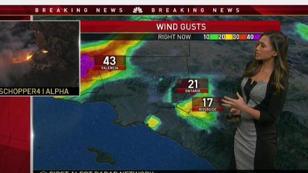 First Alert Forecast: Strong Winds and Getting Stronger