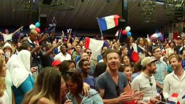 SoCal Celebrates After France Wins the World Cup