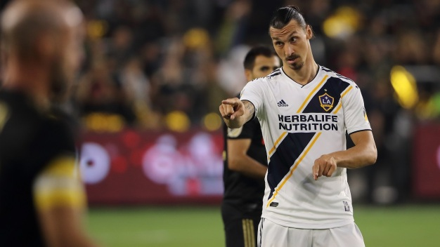 Zlatan Scores 2, Vela Ties it as Galaxy and LAFC Draw 3-3 Draw