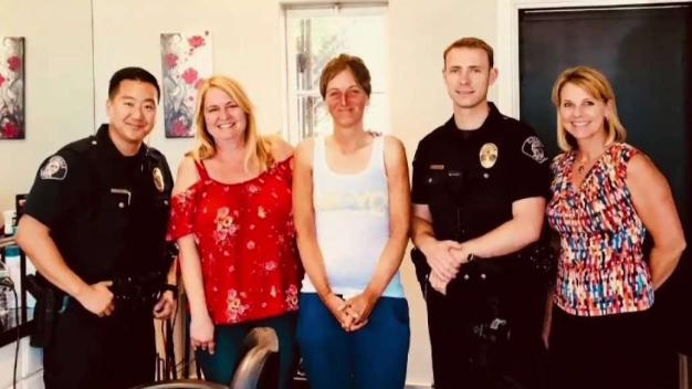 Glendale Police Officers Reunite Homeless Woman With Family