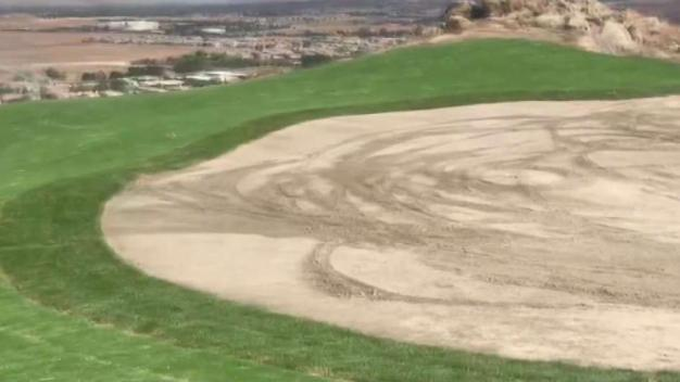 Golf Course Vandalism