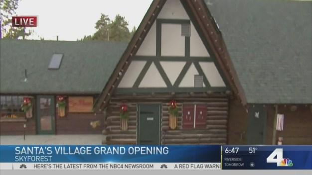 Grand Opening of Santa's Village