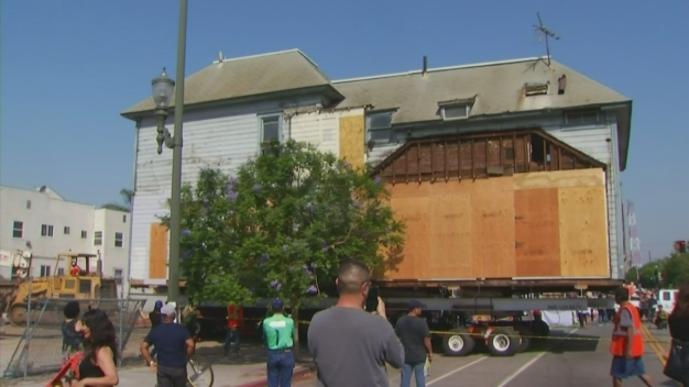 Historic Peabody Werden House Move