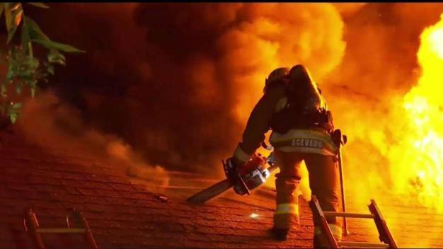 Hollywood House Fire