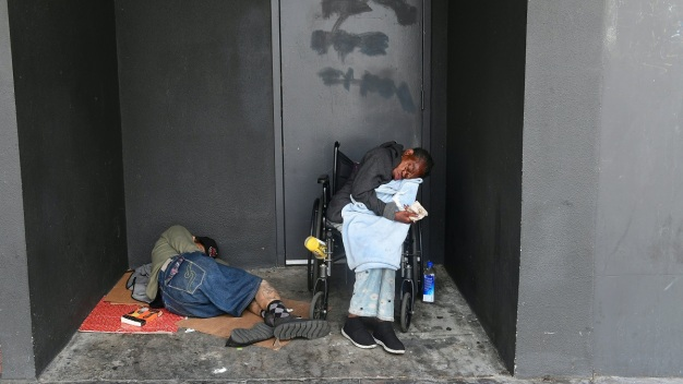 UCLA Study Finds Health Problems, Trauma Rates High for Unsheltered Homeless