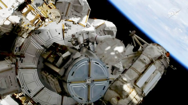 All-Girls STEM School Watches First Female Spacewalk Live