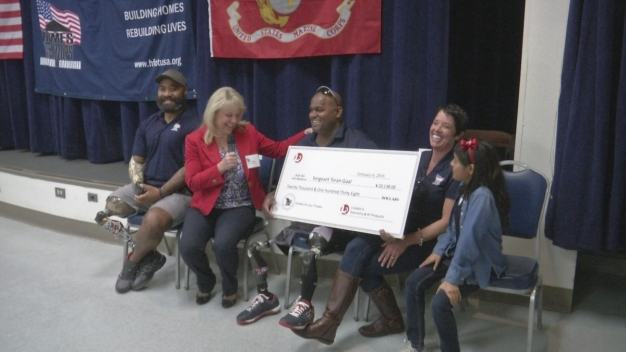 Building Begins for Double Amputee Marine's New Home