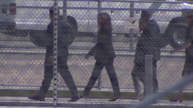 Sen. Kamala Harris Tours Otay Mesa Detention Center