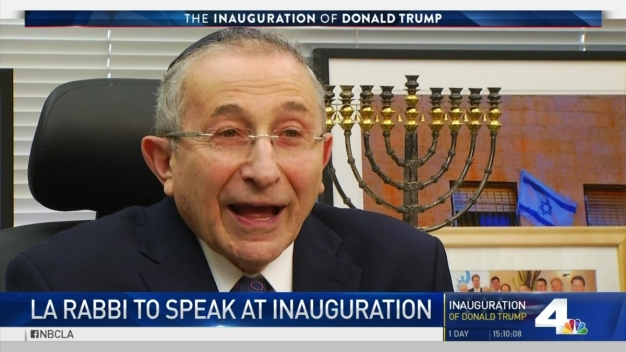 LA Rabbi to Speak at Inauguration