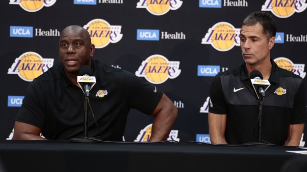 Magic Johnson, Pelinka Discuss 2018-19 LA Lakers