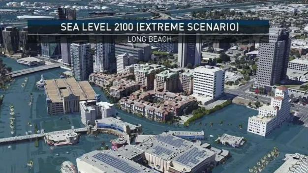 Long Beach Could Be Partially Underwater by 2100