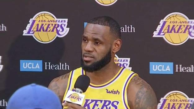 Lakers Complete First Official Practice with LeBron James