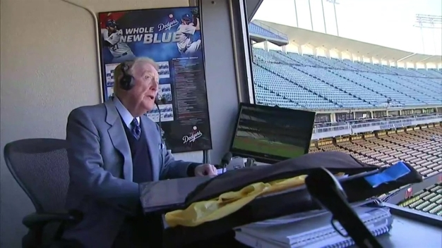 Vin Scully's Last Home Broadcast at Dodger Stadium