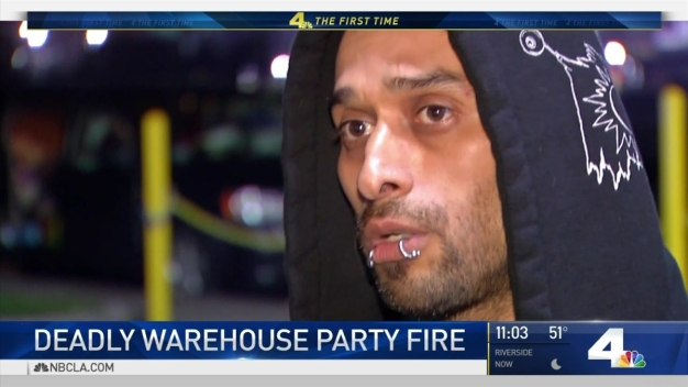 Man Recounts Moments Before Escaping Oakland Warehouse Fire