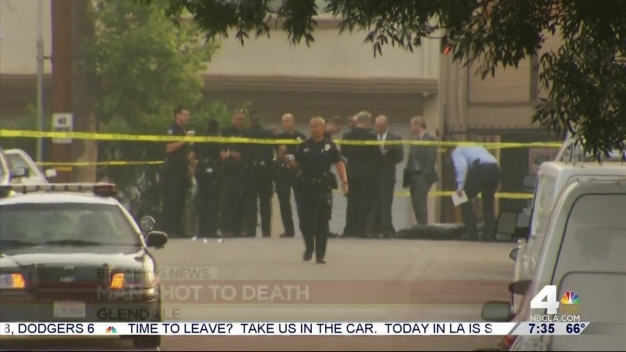 Man Found Shot to Death in Glendale