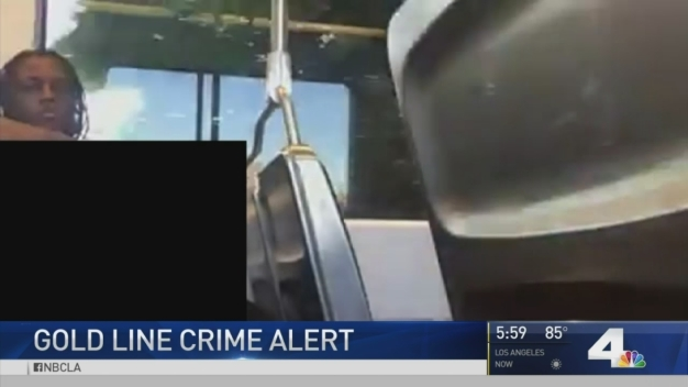 Man's Lewd Behavior on Gold Line Train