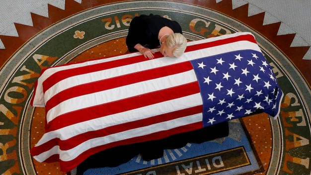 Cindy McCain on Saying Goodbye to Her Husband, John McCain, and Staying in the Fight}