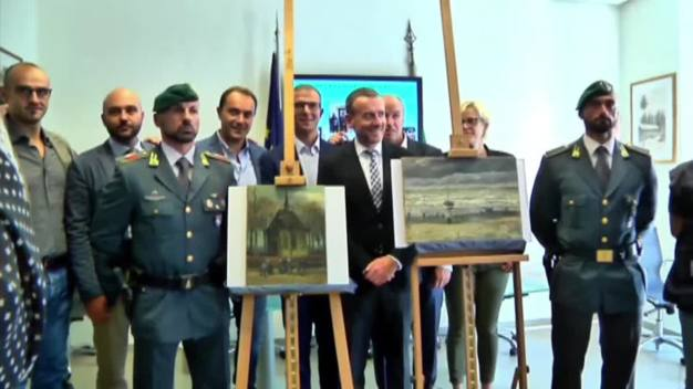 Stolen Van Gogh Paintings Found in Italian Farmhouse