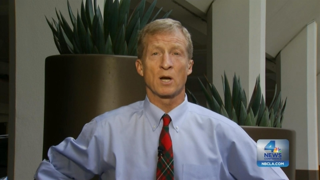 NewsConference: Steyer,  A Democratic Mover and a Shaker