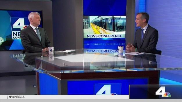 NewsConference Los Angeles Mayor Measure M Good for LA