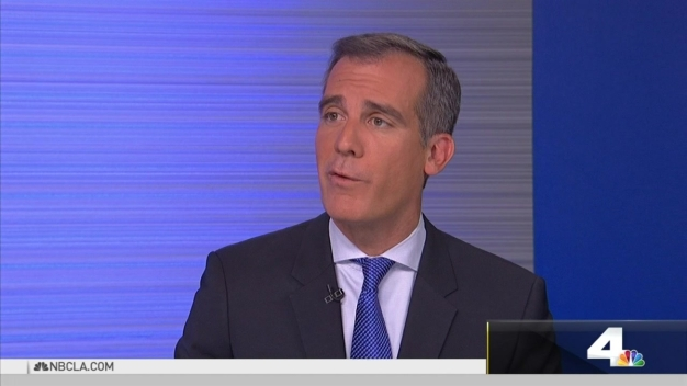 NewsConference Garcetti on Homeless and Housing Measures
