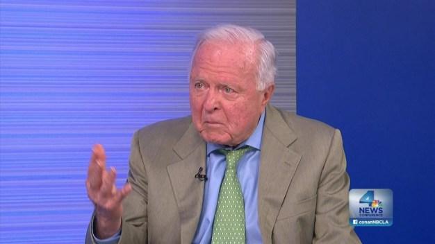 NewsConference: Former LA Mayor Riordan,  Tragedies and  Triumphs